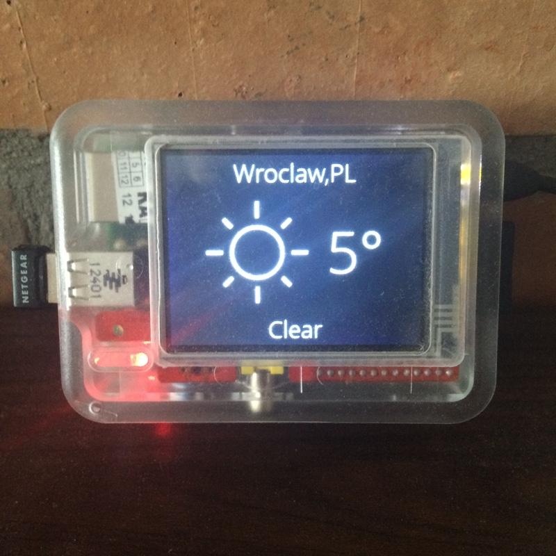 PieTime weather module
